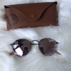 Authentic Ray bans reflective lens